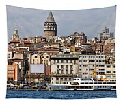 Galata Tower 03 Tapestry