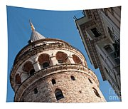 Galata Tower 04 Tapestry