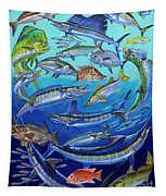 Gamefish Collage In0031 Tapestry