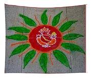 Ganesh Rangoli Tapestry