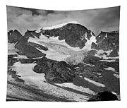 509427-bw-gannett Peak And Gooseneck Glacier, Wind Rivers Tapestry