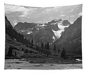 509417-bw-gannett Peak Seen From Dinwoody Creek Tapestry