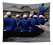 Ganvie - Lake Nokoue Tapestry