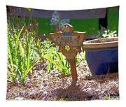 Garden Angel Tapestry
