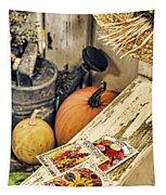 Garden Bench Tapestry