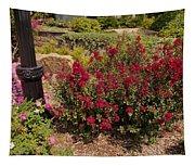 Garden Bush At Woodward Park 2f Tapestry
