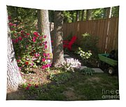 Garden Cleanup Tapestry