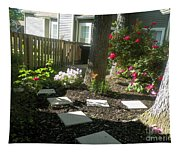 Garden Entrance Tapestry