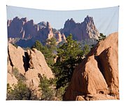 Garden Of The Gods And Red Rocks Open Space Tapestry