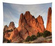 Garden Of The Gods Colorado Tapestry
