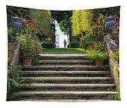 Garden Steps Tapestry