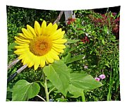 Garden Sunflower Tapestry