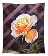 Garden Tea Rose Tapestry