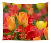 Garden Torches Tapestry