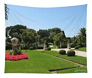 Garden Villa Ephrussi Tapestry