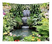 Garden Waterfall Tapestry