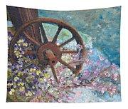 Garden Wheel Tapestry