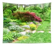 Garden With Japanese Maple Tapestry