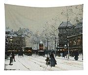Gare Du Nord Paris Tapestry