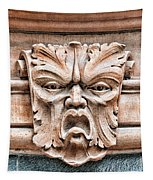 Gargoyle Head Helsingborg Tapestry