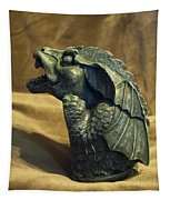 Gargoyle Or Grotesque Profile Tapestry