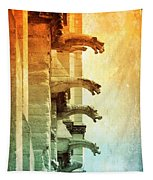 Gargoyles With Textures And Color Tapestry