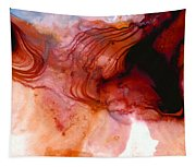 Garnet Sea - Abstract Art By Sharon Cummings Tapestry
