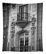 Garrison Hall Window Ut Bw Tapestry