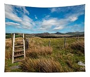 Gateway To The Mountains Tapestry