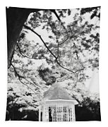 Gazebo In Monochrome Tapestry