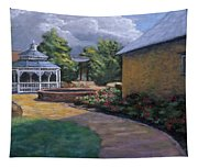 Gazebo In Potter Nebraska Tapestry