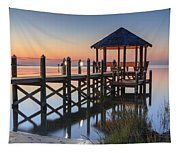 Gently - Gazebo On The Sound Outer Banks North Carolina Tapestry