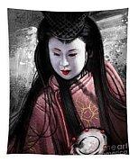 Geisha Kunoichi Tapestry
