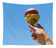 Gelati Ice Cream Cone Tapestry