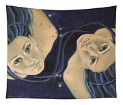 Gemini From Zodiac Series Tapestry
