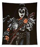 Gene Simmons Of Kiss Tapestry