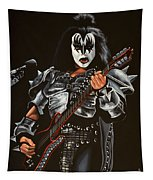 Gene Simmons Of Kiss Tapestry