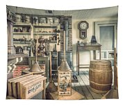 General Store - 19th Century Seaport Village Tapestry