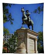 General Winfield Scott Hancock Statue - Washington Dc Tapestry