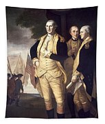 Generals At Yorktown, 1781 Tapestry