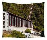 Generator House Of Hydro-electric Power Plant Tapestry