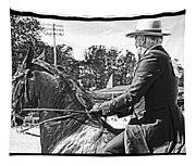 Gentleman Rider Tapestry