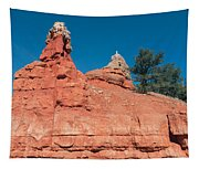 Geological Forces At Red Canyon Tapestry