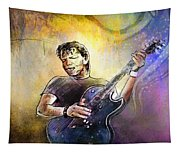 George Thorogood In Cazorla In Spain 02 Tapestry