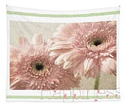 Gerber Daisy Happiness 3 Tapestry