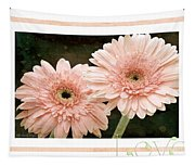 Gerber Daisy Love 5 Tapestry