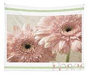 Gerber Daisy Peace 3 Tapestry