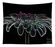 Gerbera Glow 4 Tapestry