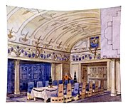 German Dining Hall, Early 20th Century Tapestry