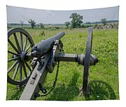 Gettysburg Cannon 2  Tapestry